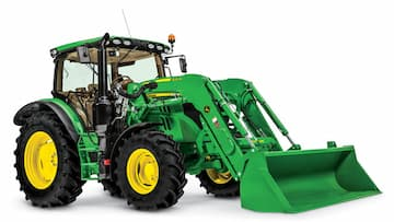 John Deere 6R Tractor with cab
