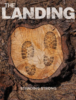 The Landing Publication Cover