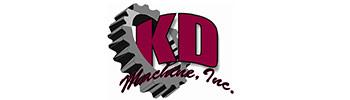 K.D. Machine Logo