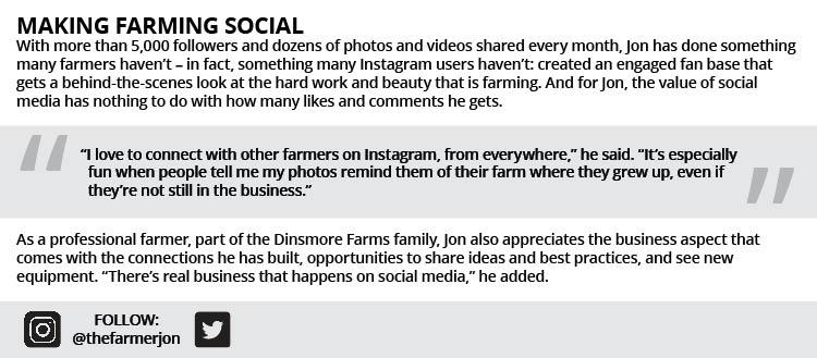 Making farming social
