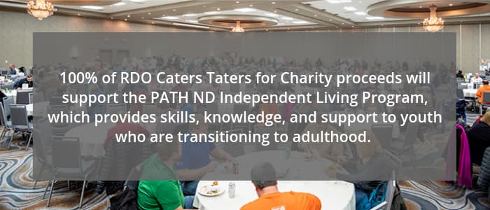 RDO Caters Taters for Charity