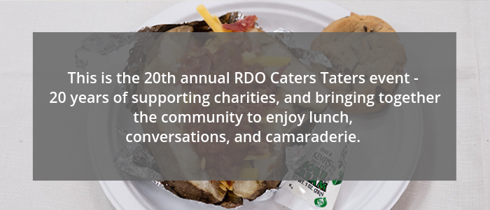 RDO Caters Tater celebrates 20 years
