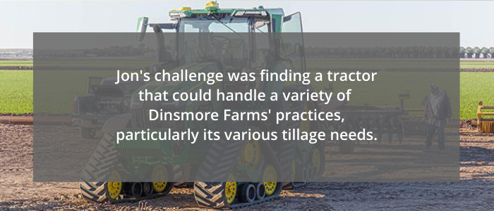 Tractors for tillage needs